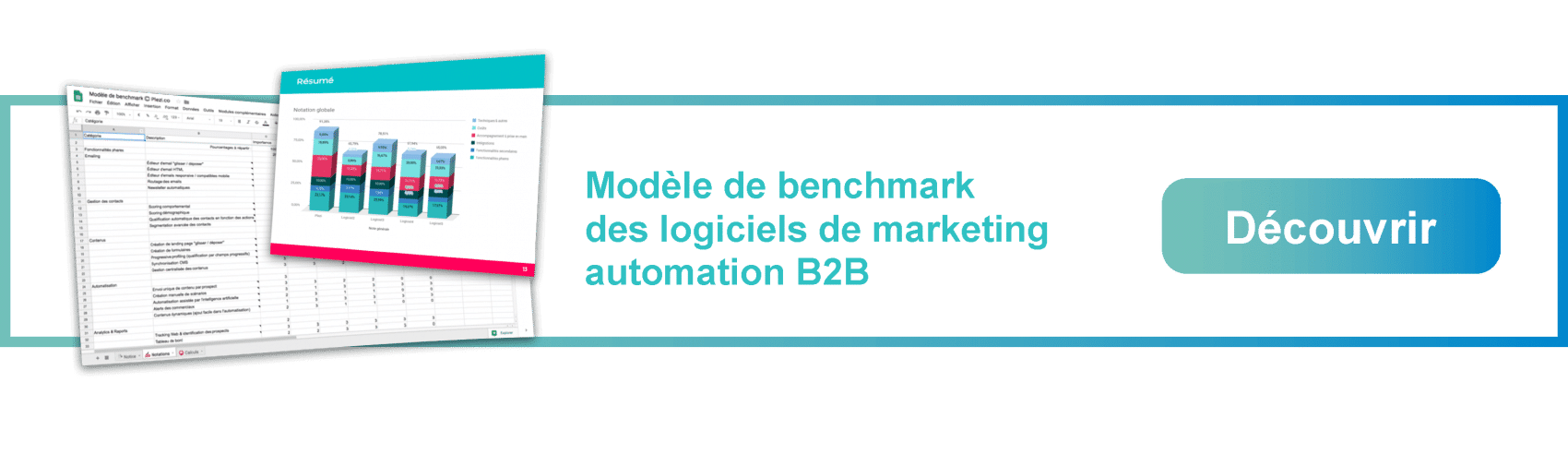 Télécharger le modèle de Benchmark des solutions de marketing automation