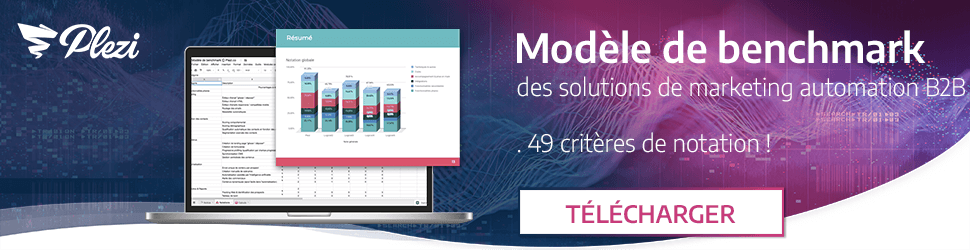 Télécharger le modèle de benchmark des solutions de marketing automation B2B