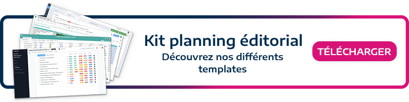 Planning-éditorial