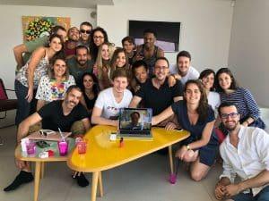 L'équipe Plezi lors du séminaire de 2018