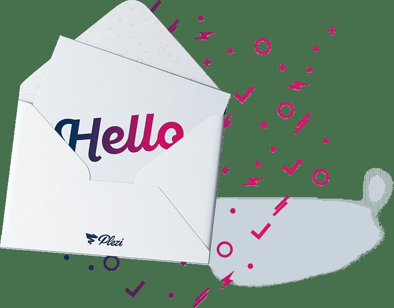 S'inscrire à la newsletter de Plezi