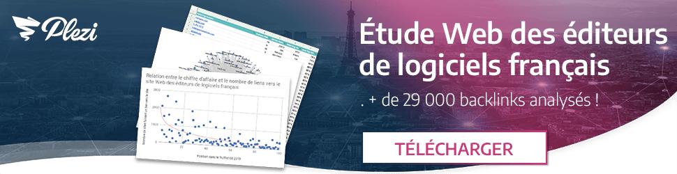 télécharger l'étude sur le Web des éditeurs de logiciels français
