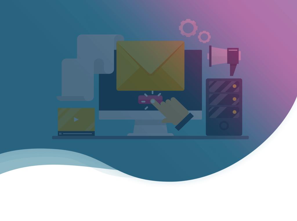 header de l'article de Plezi sur le taux de clic en emailing b2b