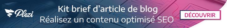 Téléchargez le modèle de brief d'article de blog optimisé SEO