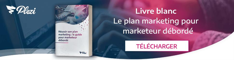 Télécharger notre livre blanc sur le plan marketing pour marketeur débordé B2B