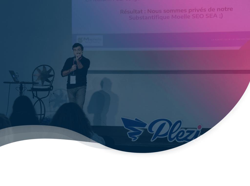 header de l'article résumant la conférence de Guillaume Eouzan CEO de Mindfruits au Plezi Day 2019