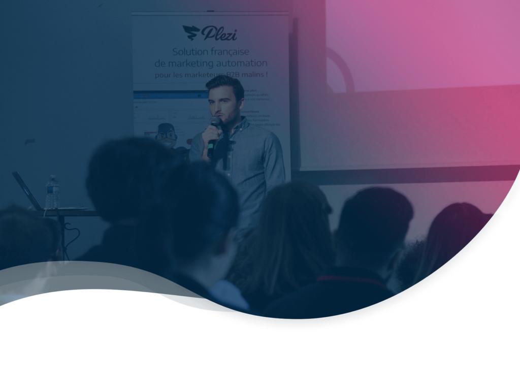 header de l'article qui résume la conférence de Jonathan Costet fondateur de e.Founders lors du Plezi Day 2019