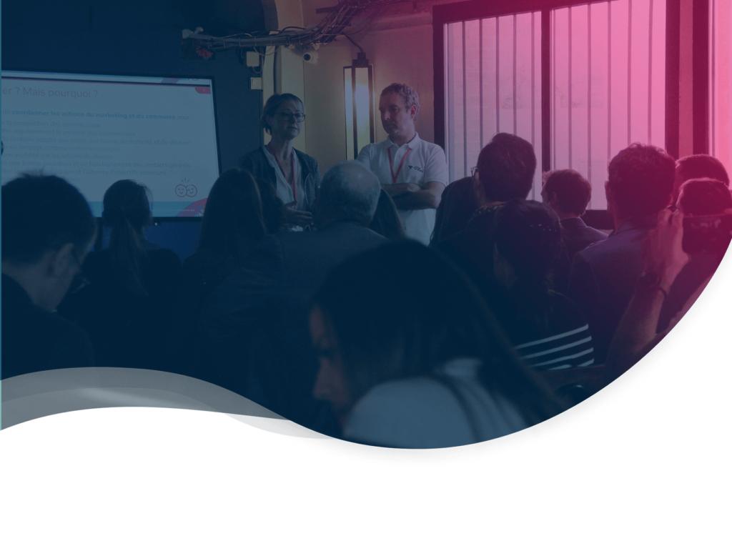 header de l'article résumé de la conférence sur l'alignement sales marketing par Plezi et Winbound