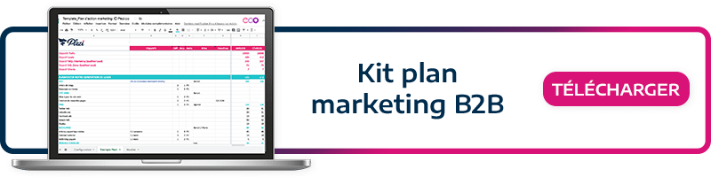 Download our marketing kit, and put your B2B marketing plan in place