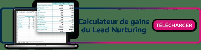 Téléchargez note kit marketing! Calculez simplement le ROI rapporté grâce au lead nurturing