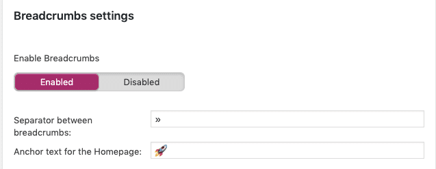 How to add emoticon in your breadcrumbs using yoast seo in wordpress
