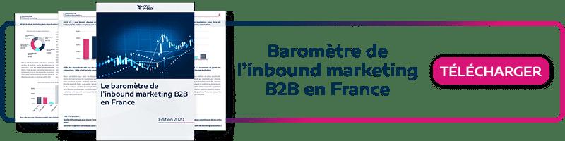 Découvrez le baromètre de l'inbound marketing B2B en France
