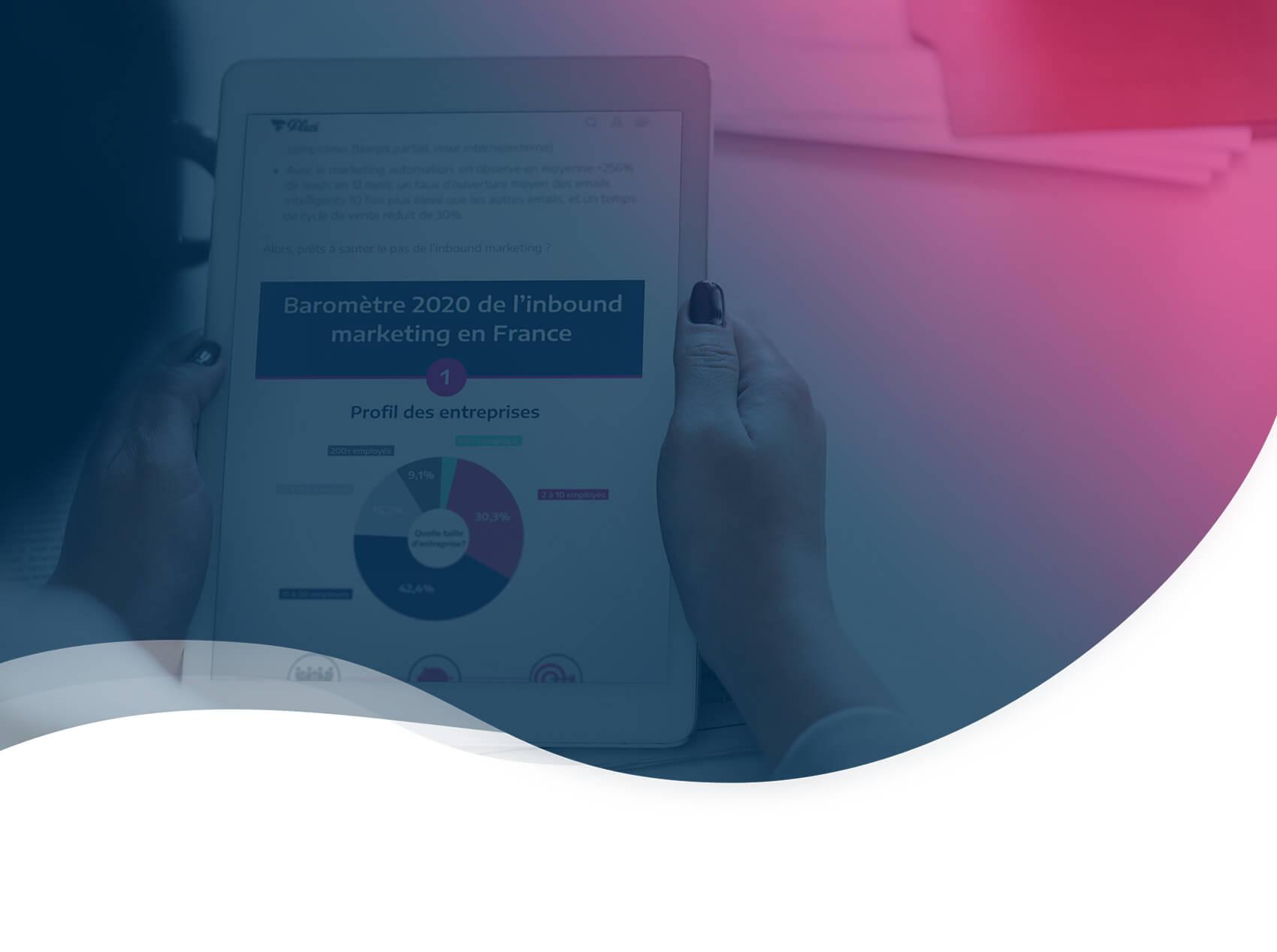 Les chiffres de l'Inbound Marketing B2B en France, édition 2020