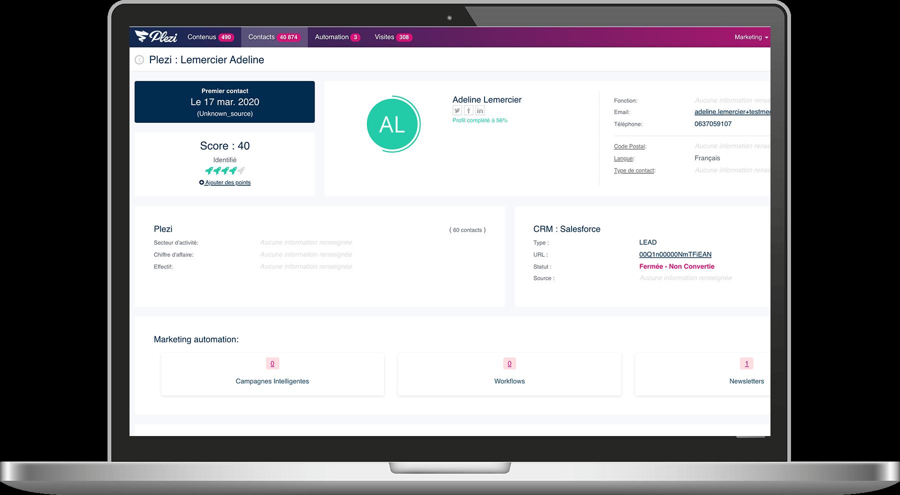 visuel écran du webinar quels leviers activer quand vos prospects ne sont pas joignables