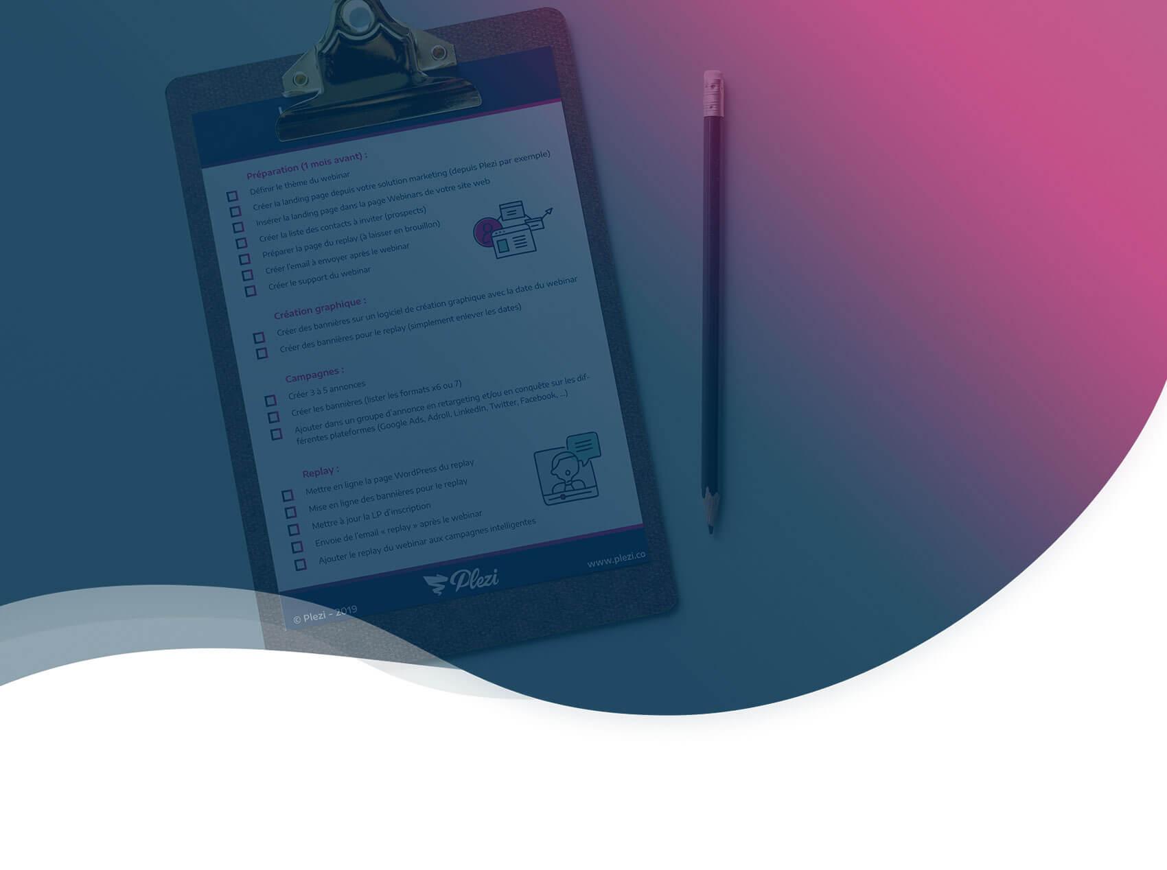 La checklist à suivre pour un webinar réussi