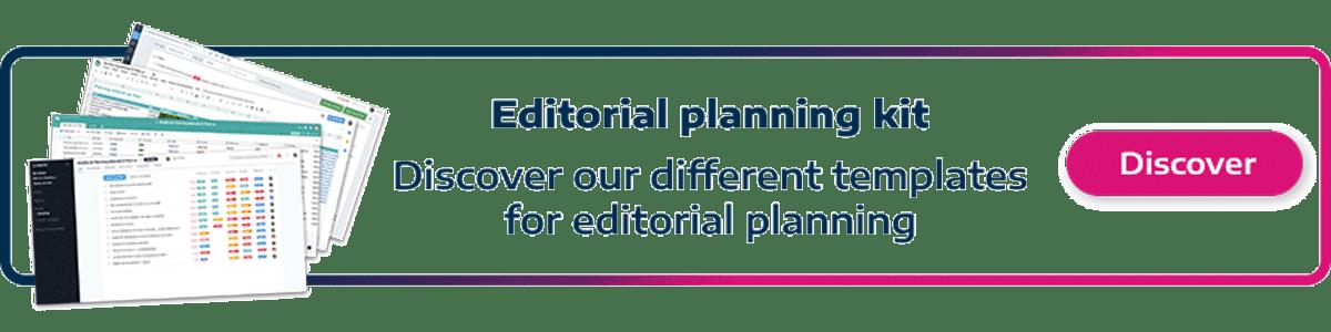 Editorial planning