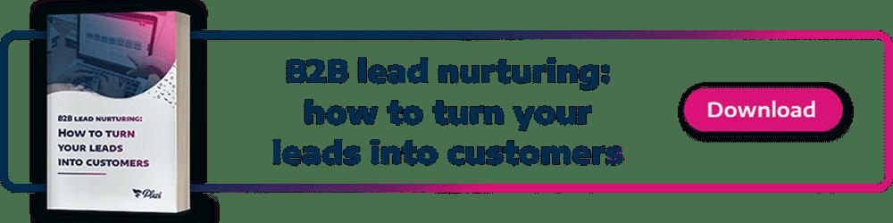 CTA Lead nurturing