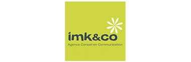 Logo imk&co agence strasbourgeaoise - partner Plezi