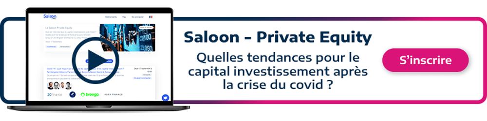 call to action permettant de s'inscrire à l'événement saloon private equity