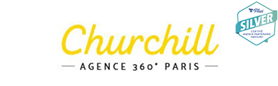 Logo de l'agence churchill