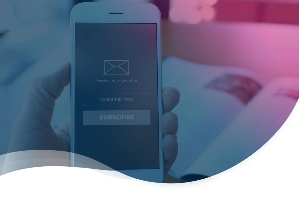 header du guide Plezi pour créer une newsletter B2B performante