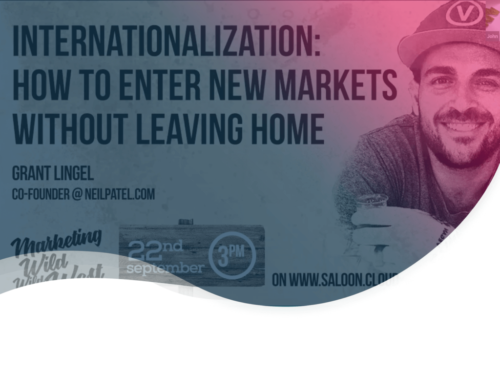 header de l'article sur les conseils de Grant Lingel, co-fondateur du site neilpatel.com, pour entrer dans un nouveau marché