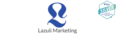 Logo de l'agence lazuli marketing