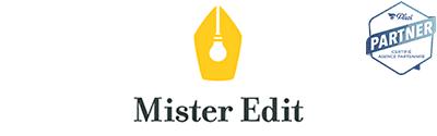 Logo de l'agence Mister Edit