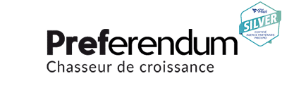 Logo de l'agence Preferendum
