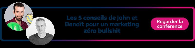 visionner la conference Plezi sur les 5 conseils pour faire du marketing zero bullshit
