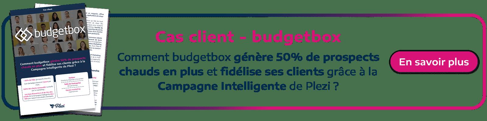 cta étude de cas budgetbox