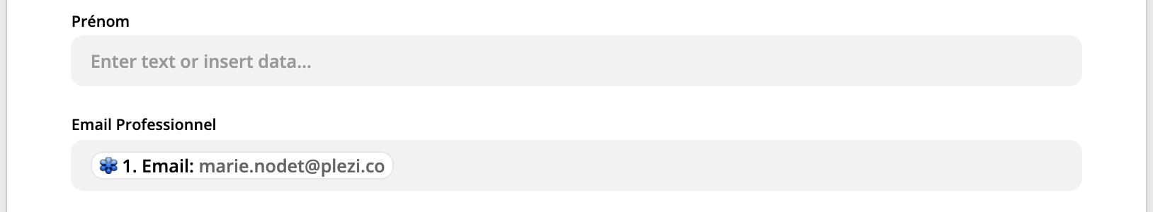 email d'un participant à un webinar plezi