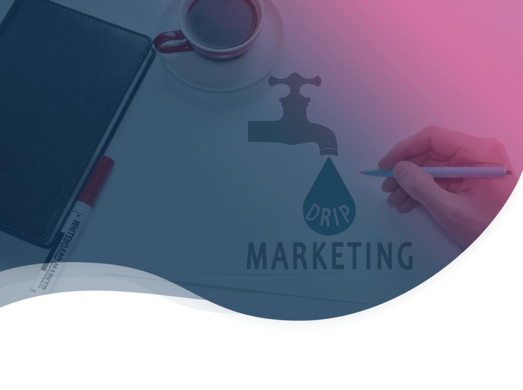 Header de l'article de blog sur le drip marketing