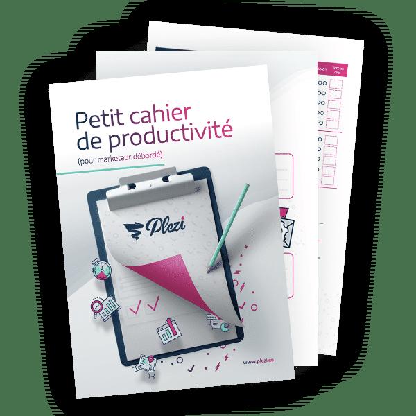 Cahier de productivité
