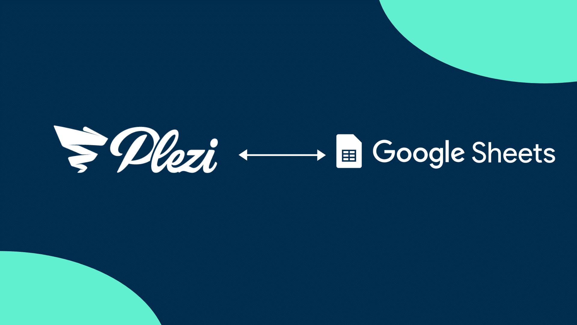 integration google sheets plezi