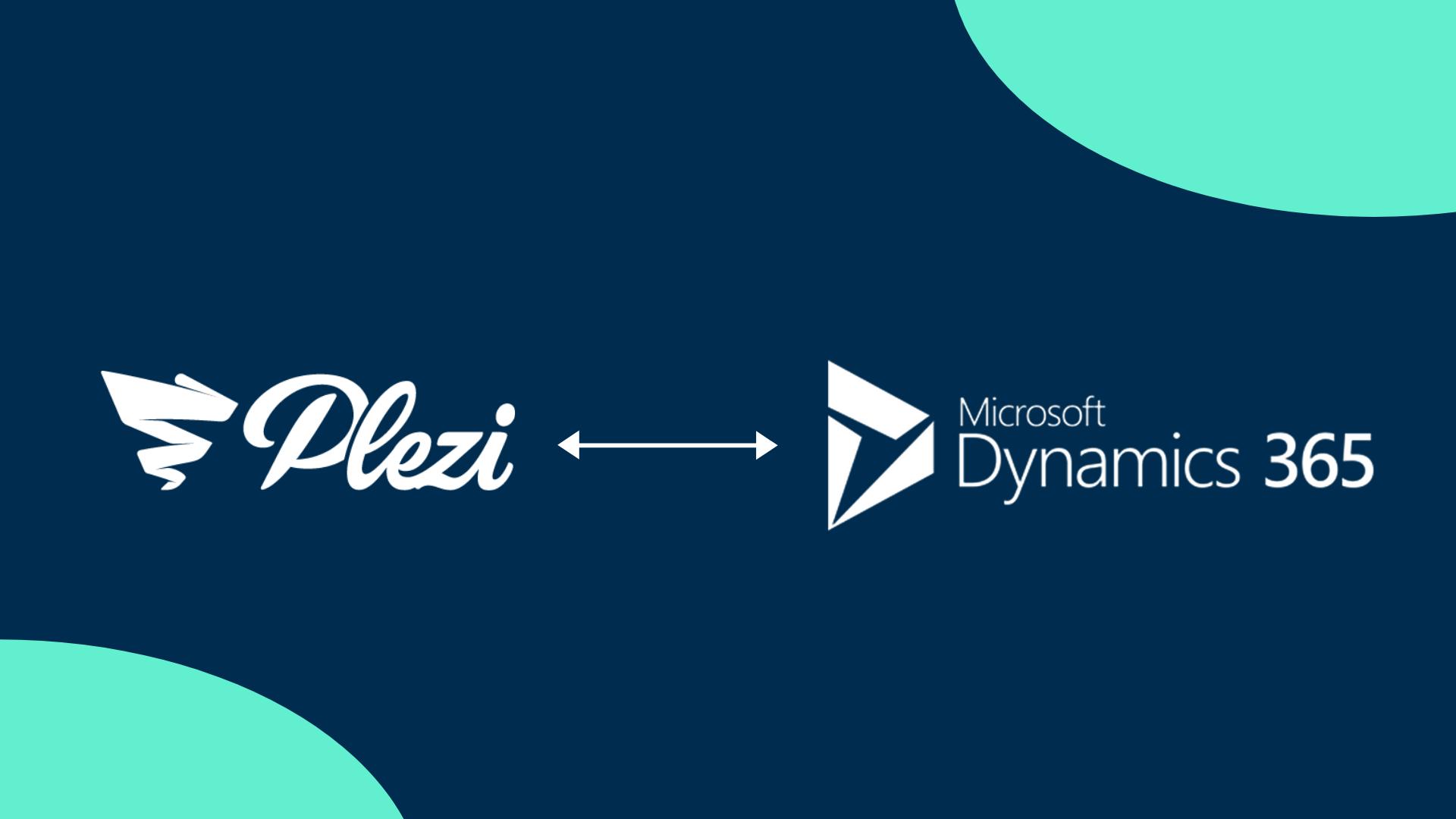 Plezi Dynamics365 integration