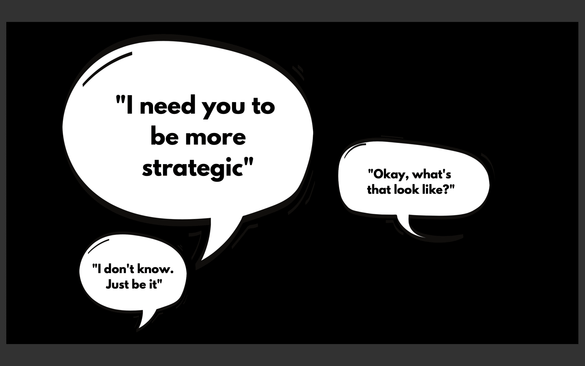 Lucy Heskins Think strategically