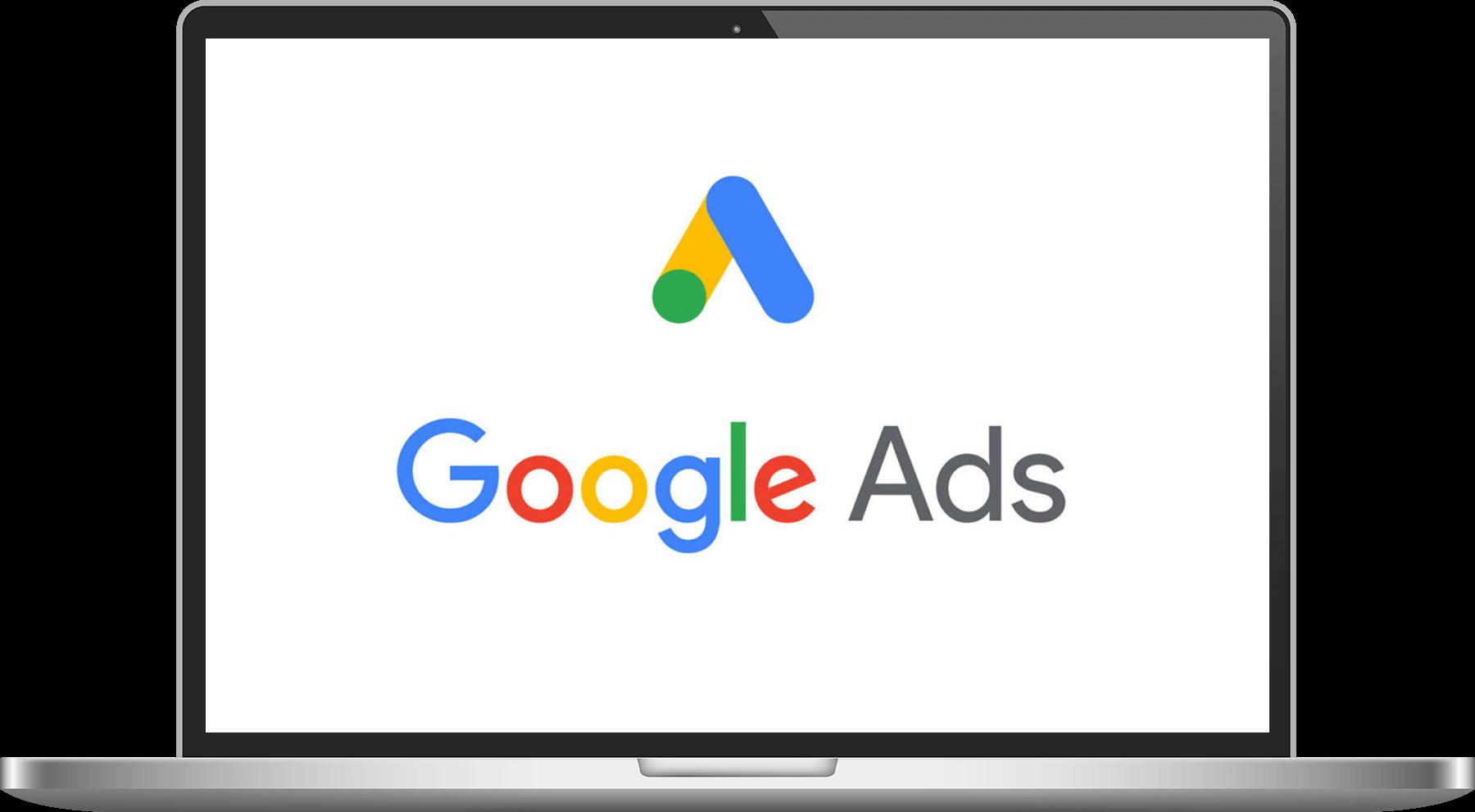 écran google ads