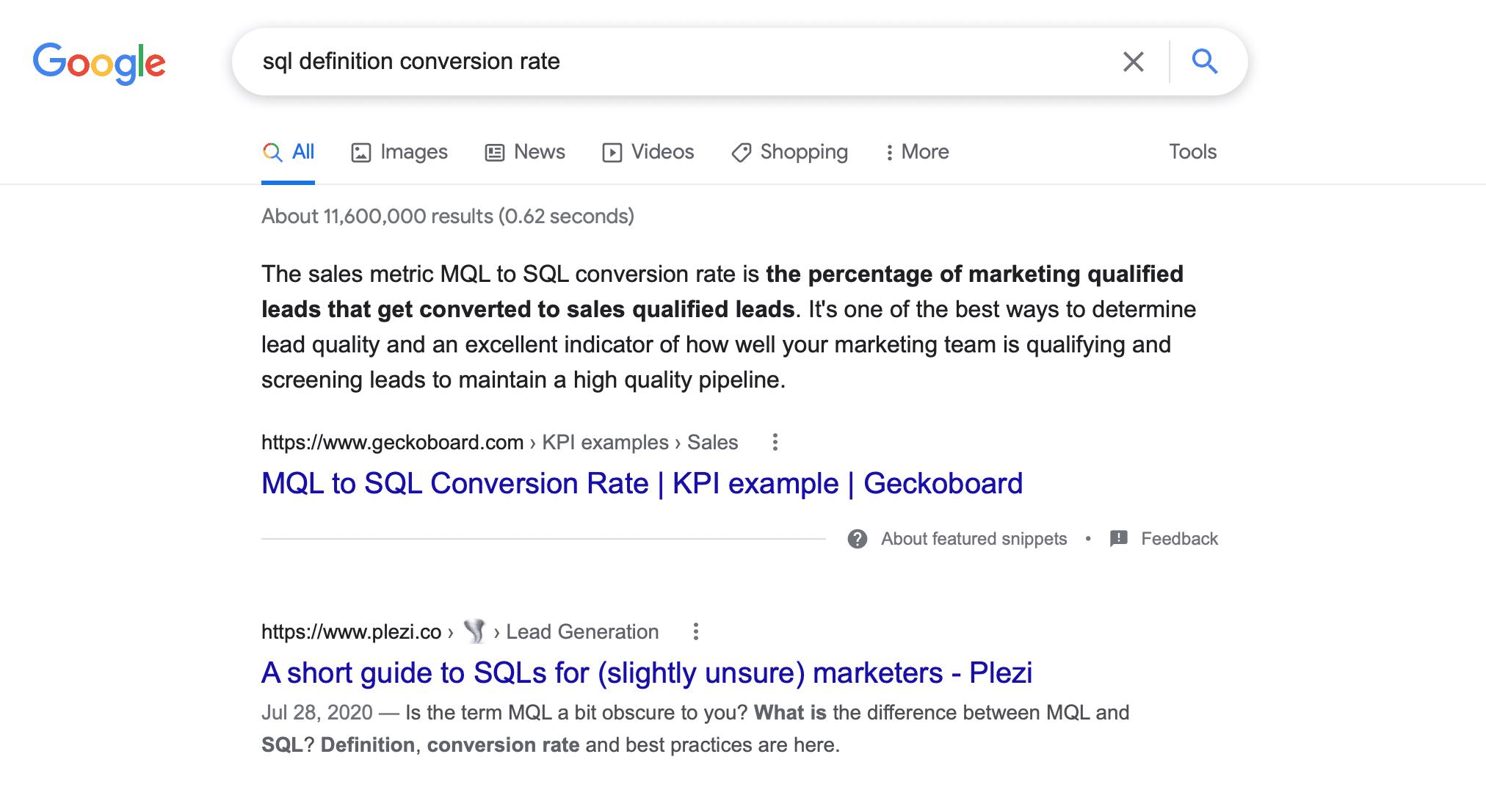 SQL conversion rate