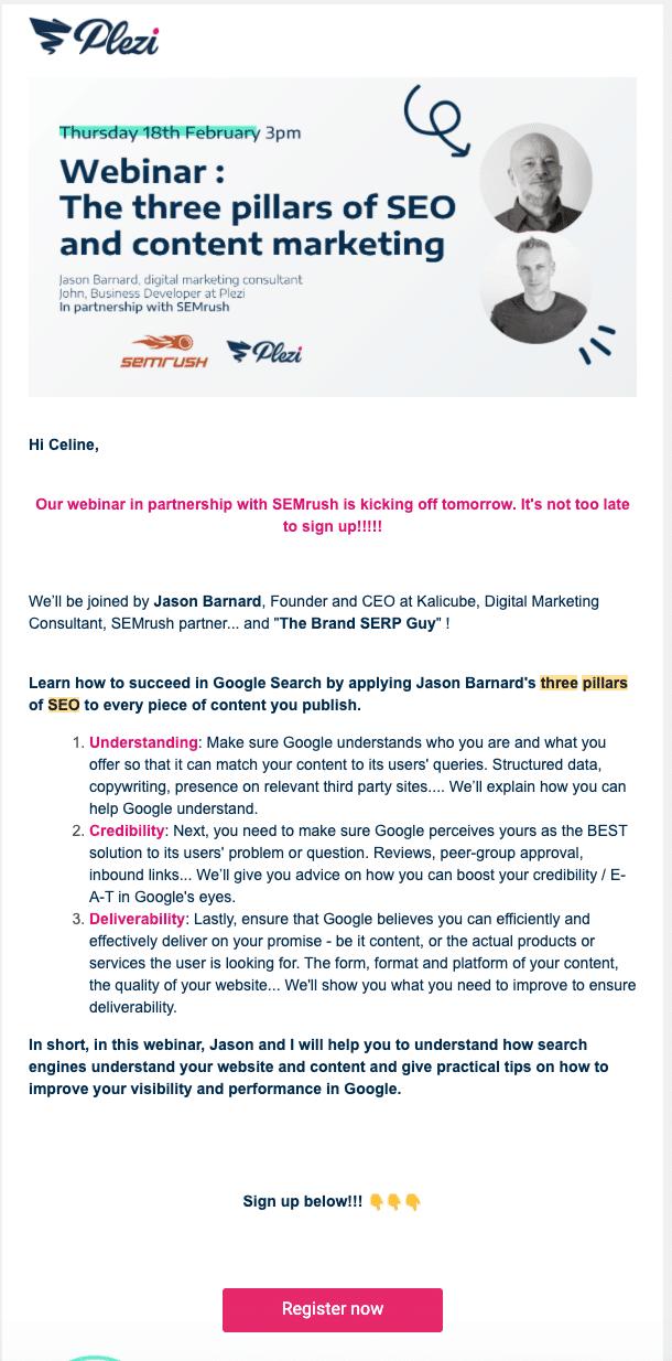 Webinar invite UK